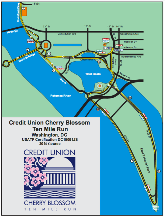 Race Report: Cherry Blossom 10 Mile Run