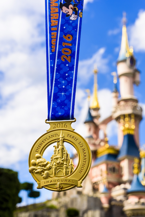 Disneyand Paris Half Marathon Medals Revealed