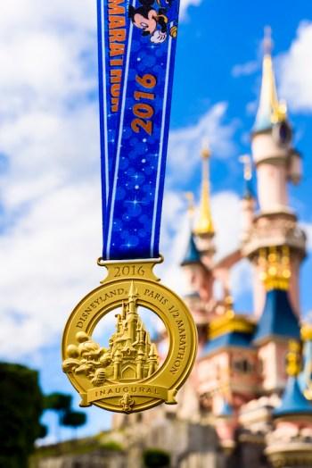 Disneyand Paris Half Marathon Medals Revealed