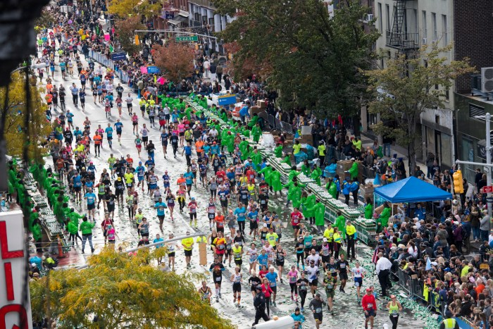 TCS New York City Marathon 2016 By The Numbers