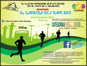 Convocatoria Carrera del Pavo de Santo Domingo
