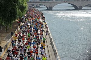 Maratón de Paris 2016