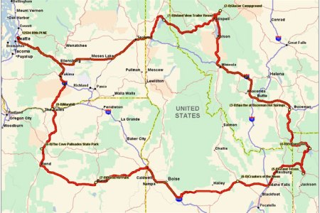 the runnerduck travelodge northwestern us loop trip