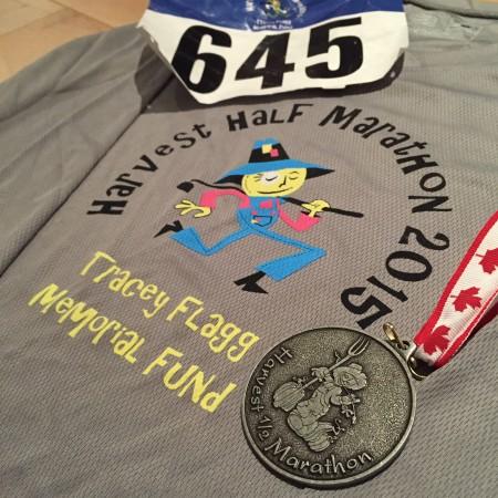 Race Report: Harvest Half Marathon