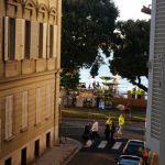 Blick aus dem Hotel