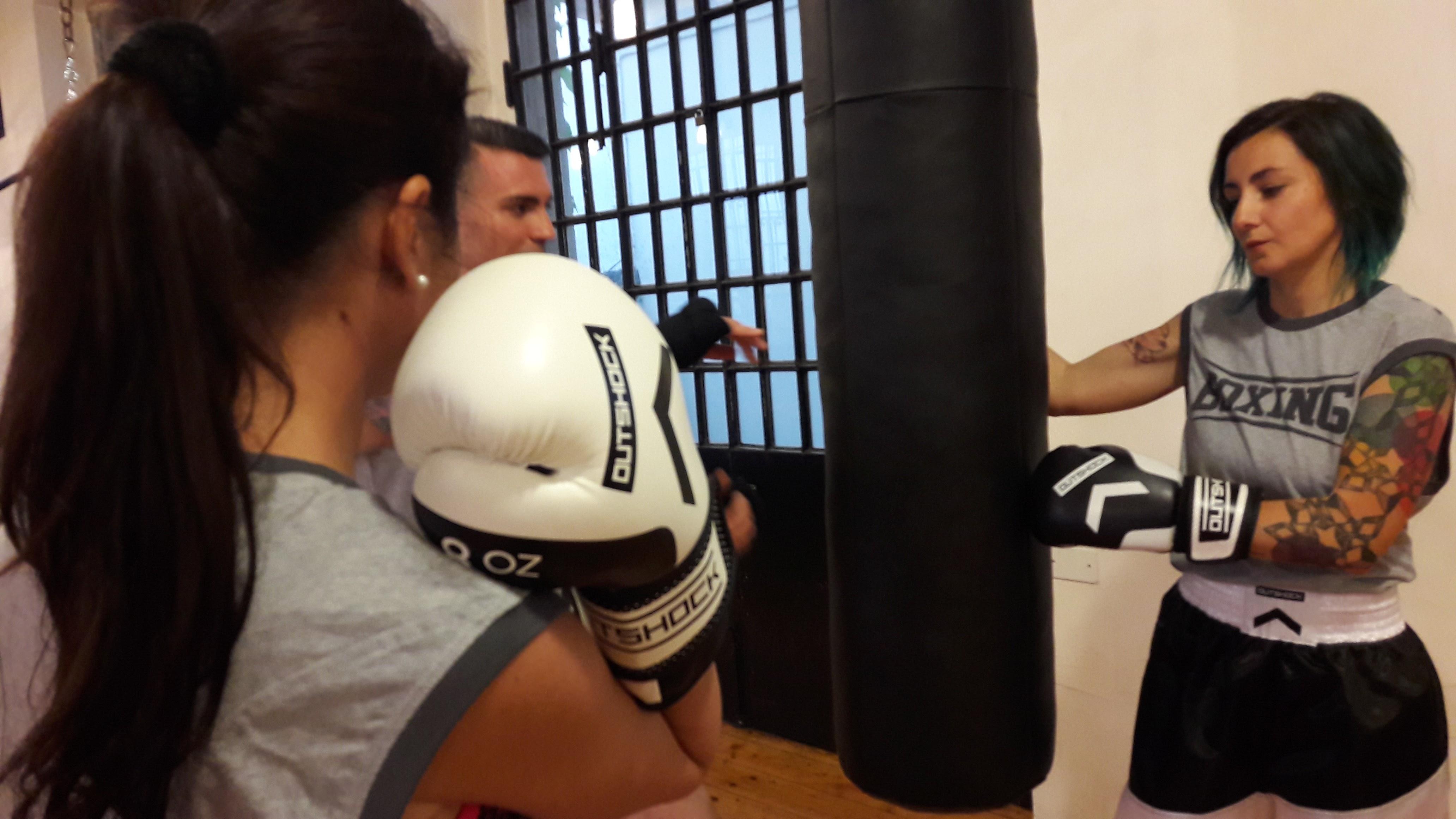 A scuola di boxe con Outshock by Decathlon