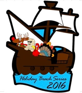 Holiday Beach Series Race Flyer 2016