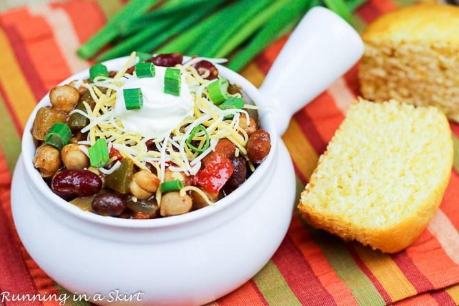 Crock Pot Award Winning Vegetarian Chili Recipe-71-5