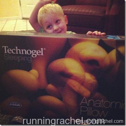 technogel #sleeptoperform @RunningRachel