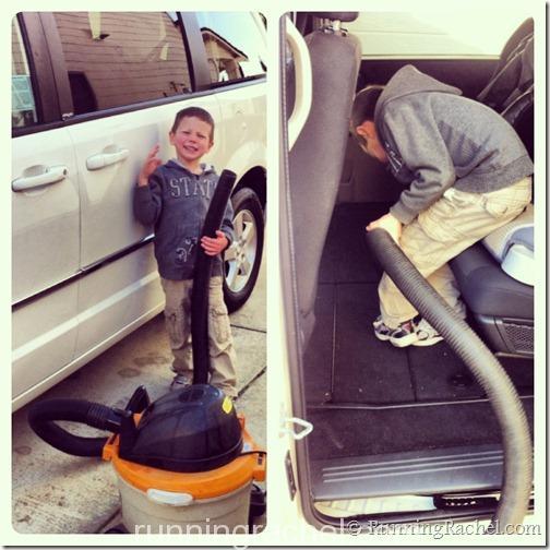 car clean up