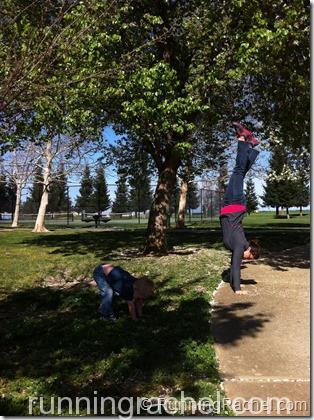 #handstandFriday @RunningRachel 3/22/13