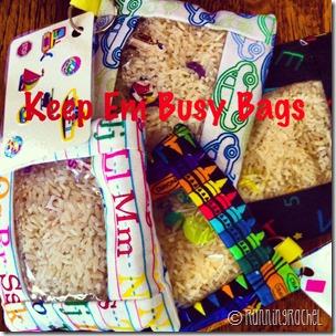 keep em busy bags, i spy bags