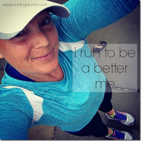 running mom, run to be a better me