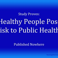 Healthy People Pose Risk to Public Health