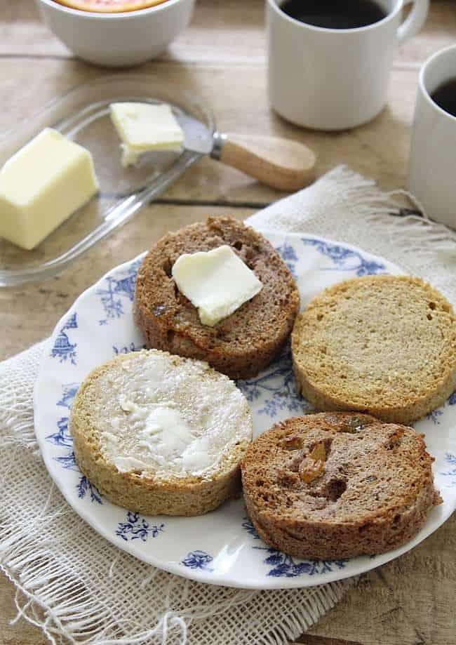 Paleo Cinnamon Plum Oatmeal Bread