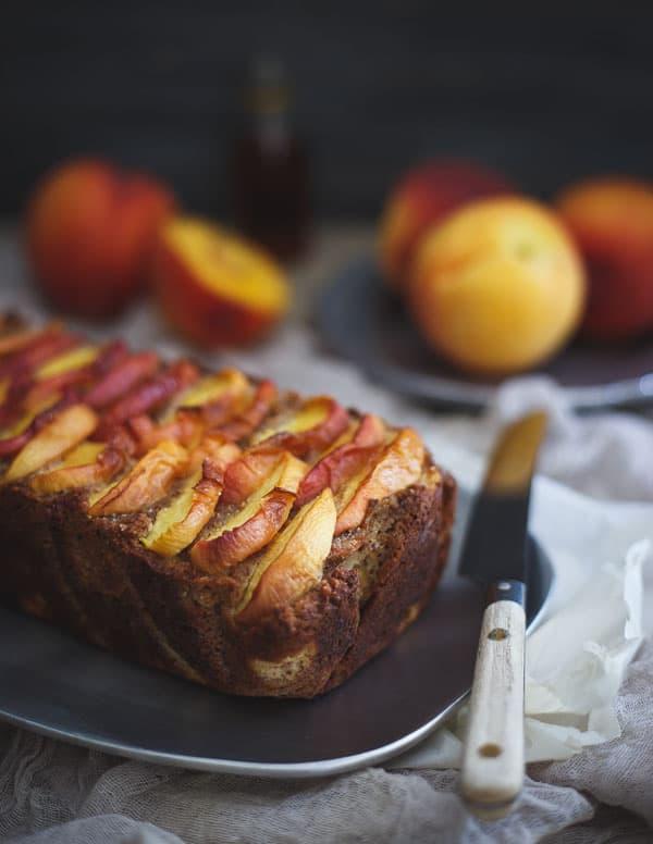 Paleo Peach Bread