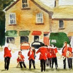 Watercolour Painting. Brass Band - Grassmere (POB002) Artist: Polly Birchall