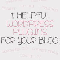 . 11 helpful wordpress plugins for your blog .
