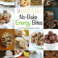. 14 quick & easy no-bake energy bites .