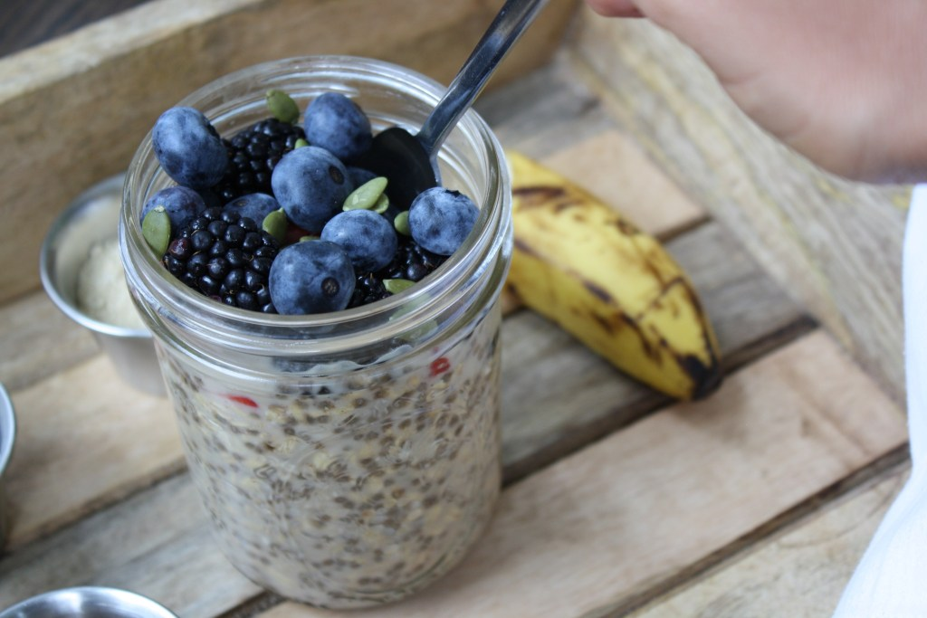 Pre-workout Energizing Overnight Oats