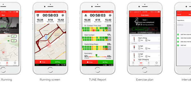 TUNE: Better Running With Technology