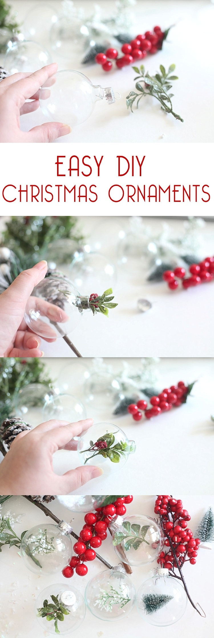 Large Of Clear Christmas Ornaments