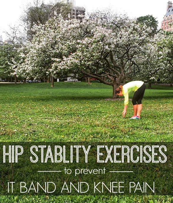 Hip Stability exercises for runners to prevent IT Band and Knee pain