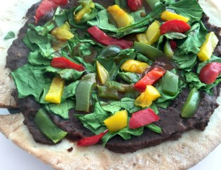 20 Minute Healthy Mexican Pizza {Gluten Free}