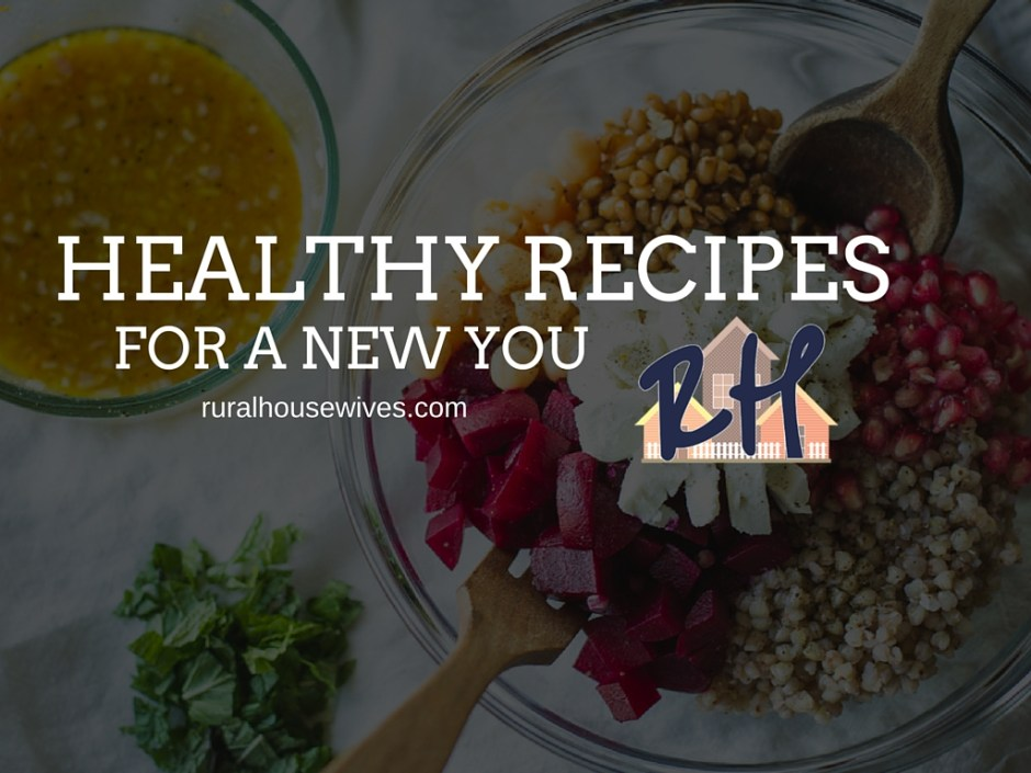 Healthy Recipes for a New You