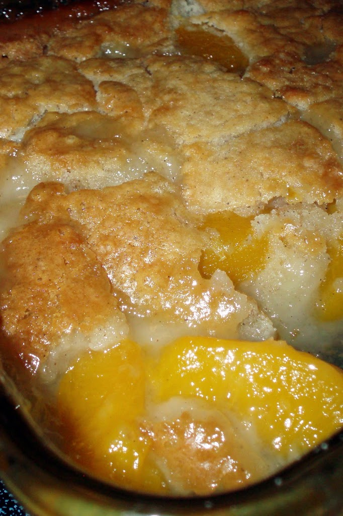 Farm Fresh Peach Cobbler #Recipe