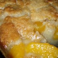 Farm Fresh Peach Cobbler #Recipe