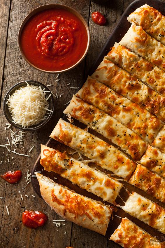 Quick and Easy Italian Garlic Breadsticks