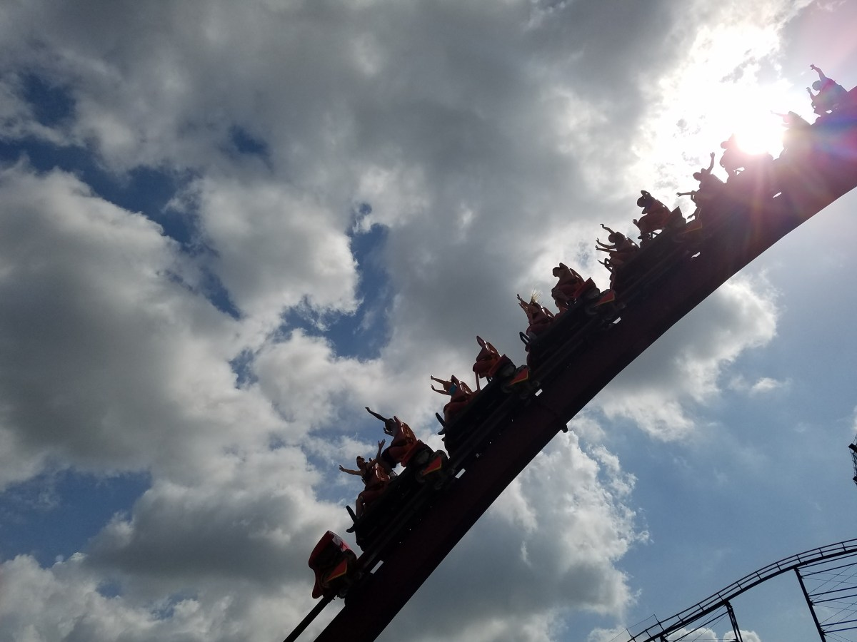 Top 10 Attractions for Teens at Kings Island #OhiosLargestPlayground