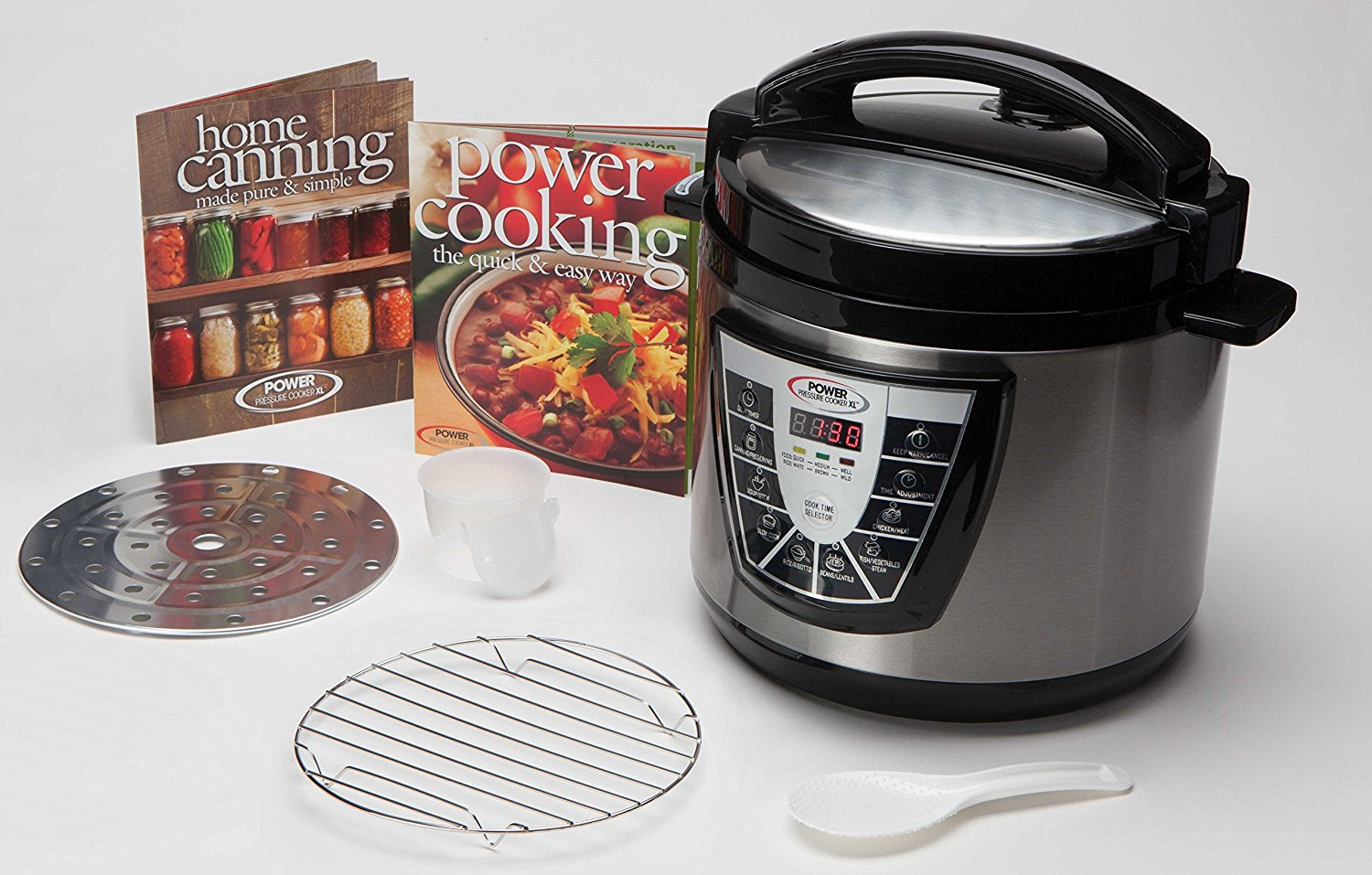 We initially bought a Zojirushi NP-GBCXT Induction Heating System Rice Cooker based on its great reviews on Amazon. Although this high-end rice cooker promises the ultimate in rice cooking, it only has preset programs for cooking.
