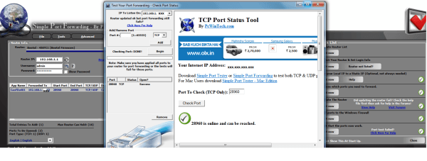Setting Up Port Forwarding in Windows 7