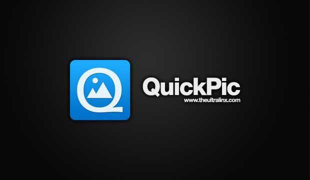 Internal Storage Getting Low Automatically - Quickpic app