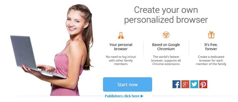Create your own Personalized Browser Makemybrowser - 1