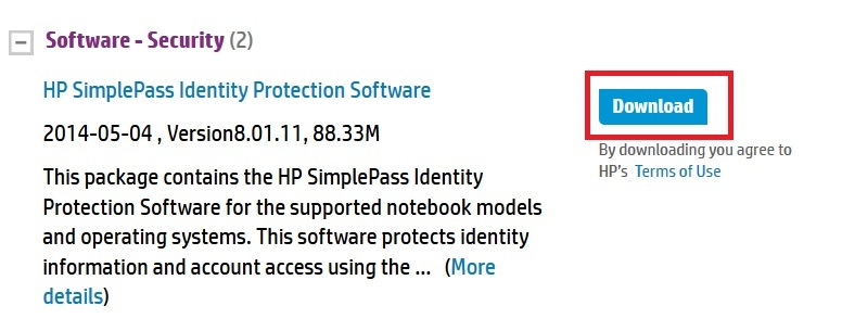 HP SimplePass A referral was returned from the Server error - 3