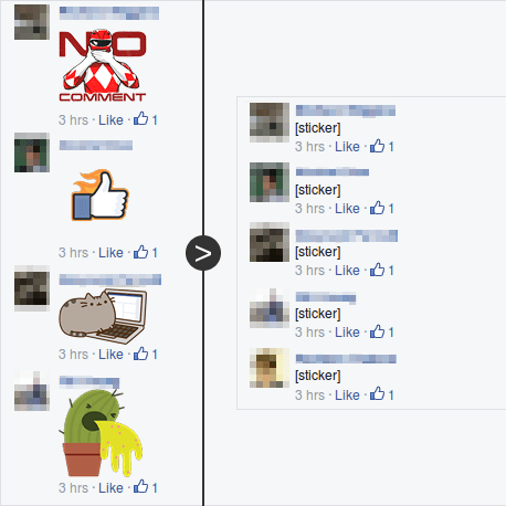 How to Remove Facebook Stickers from Comments