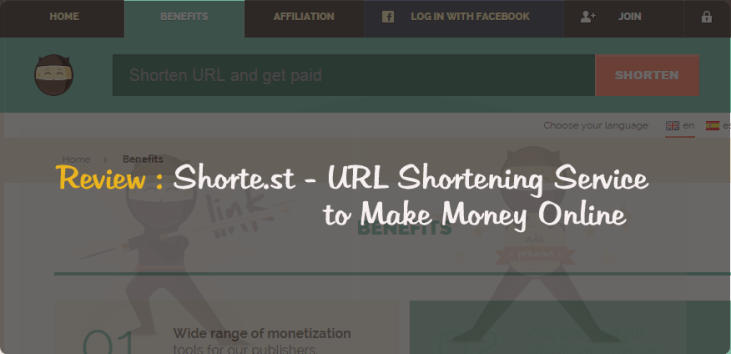 Shorte.st Review : One of the Best Link Shortener to Make Money