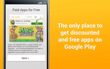 Best Free Paid Android Apps Market 2016 - GetJar (Google Play)