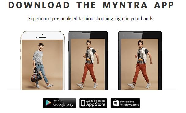 Myntra App for PC