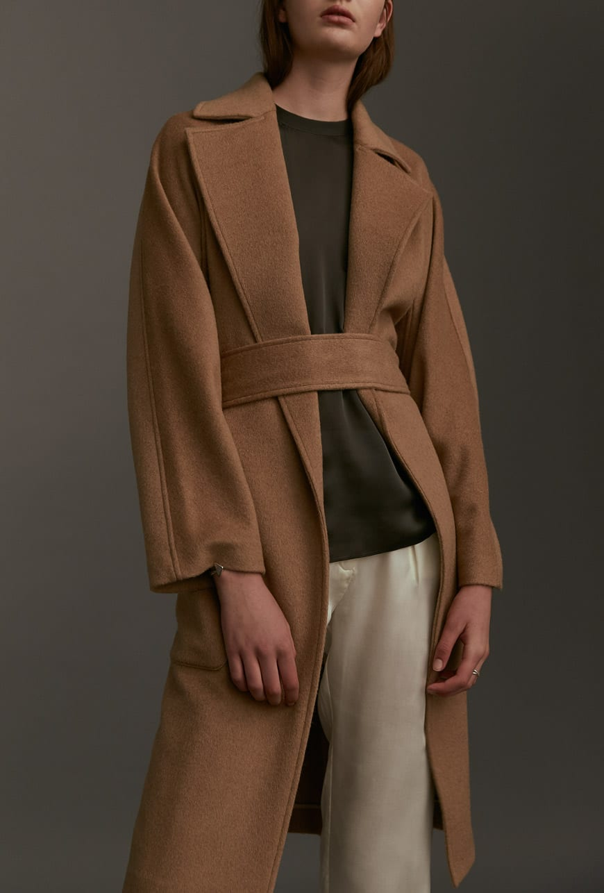 JAC+ JACK coat; JAC+ JACK top.