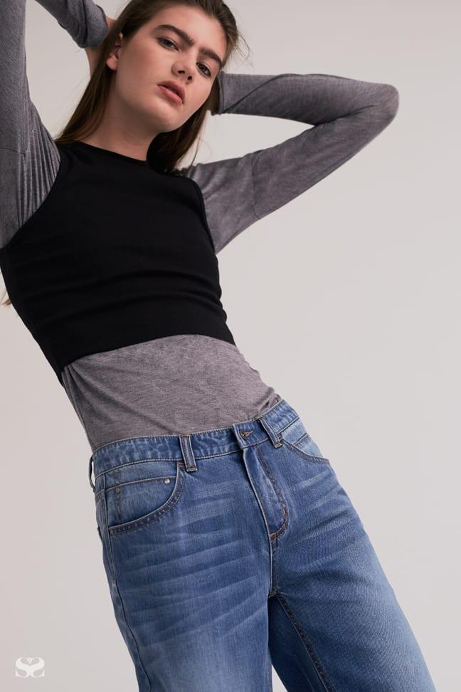 AGENT NINETYNINE top, ONETEASPOON dress, TRENERY jeans.
