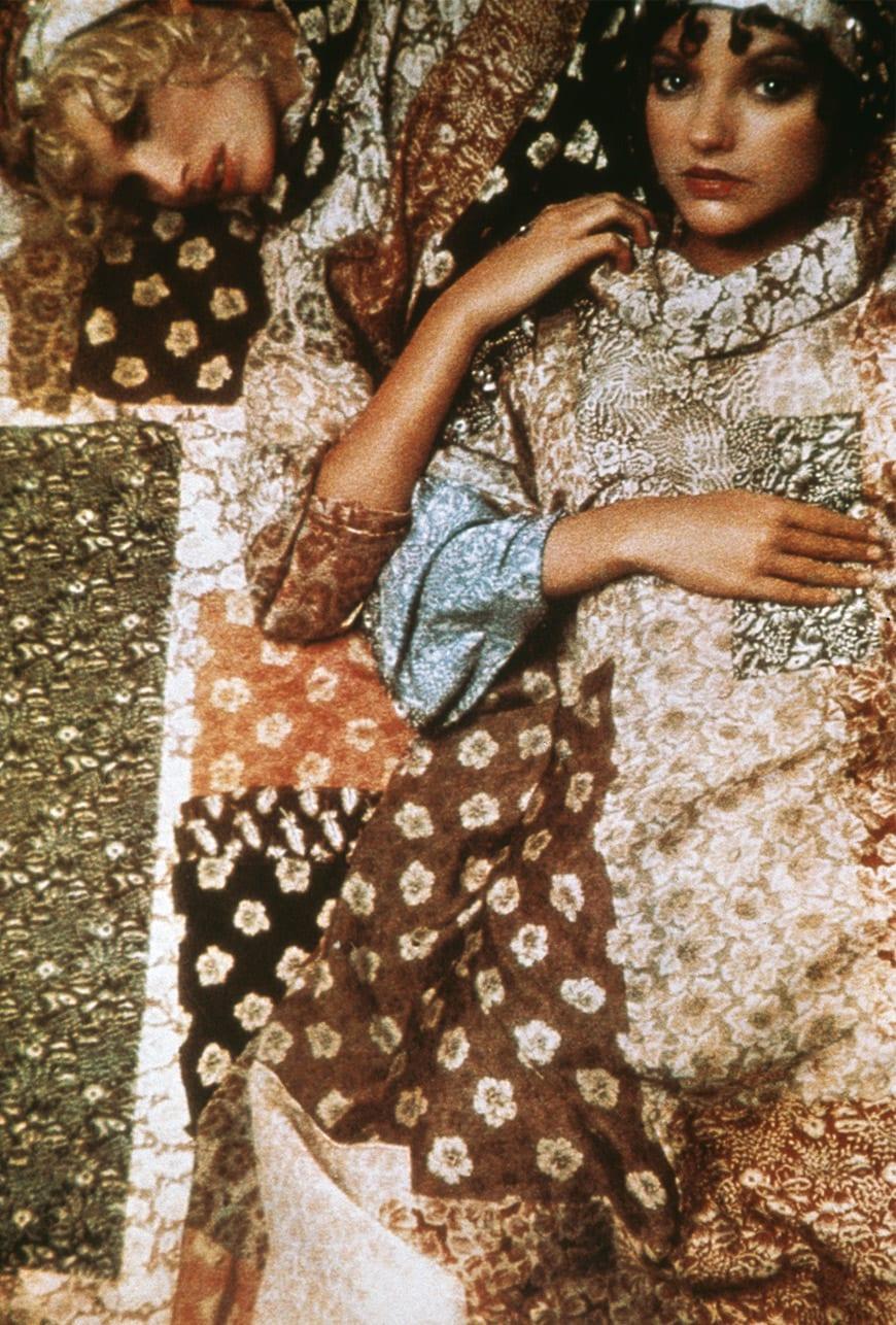 Sarah Moon for Cacharel, 1969.