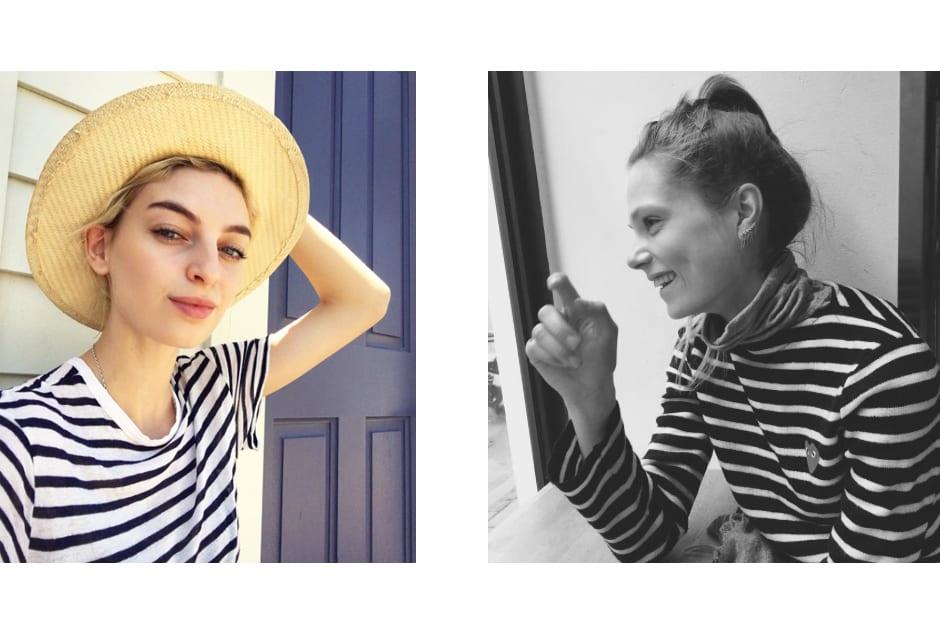 From left: Rose Smith @rosesmith; Caroline Brasch Nielsen @caroline_brasch.