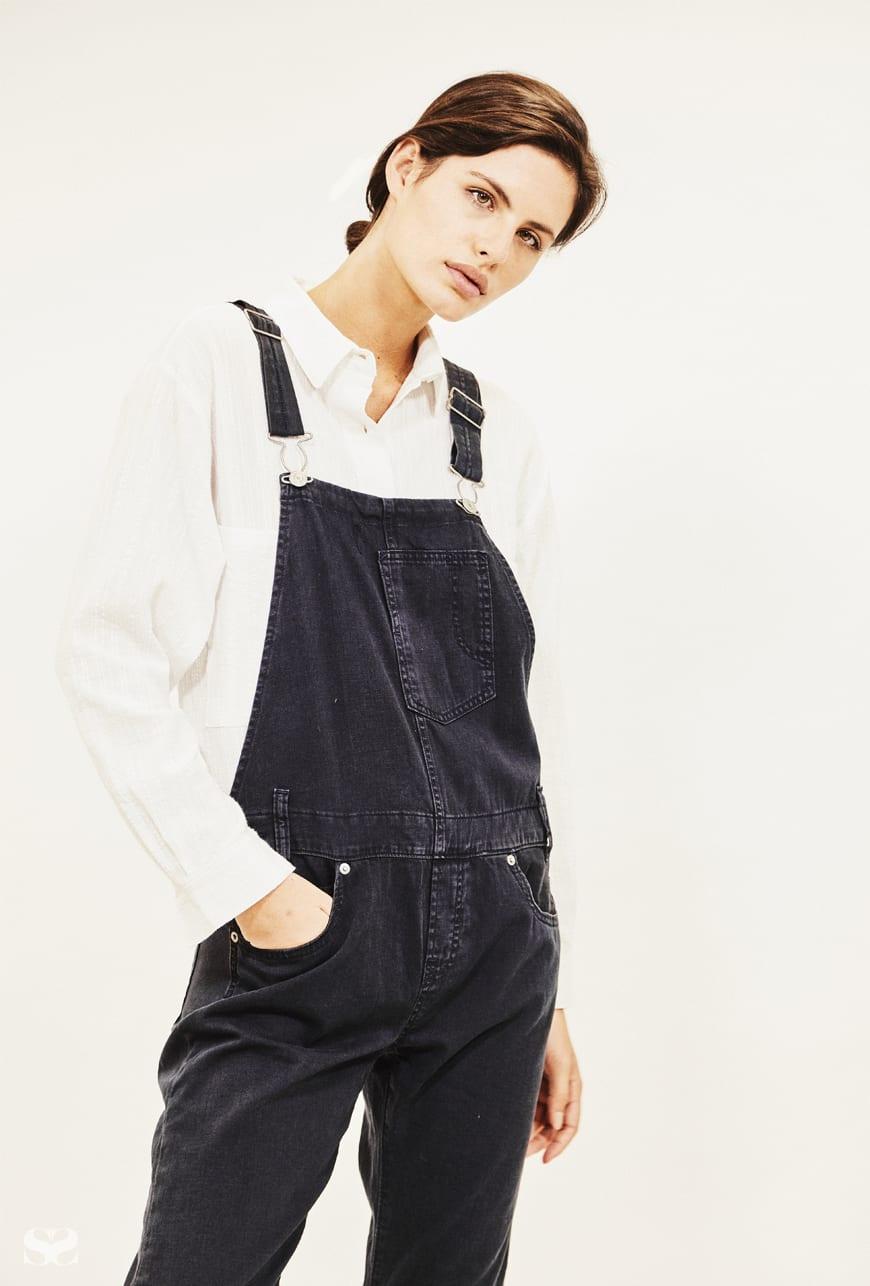 LEVI'S overalls; VALE DENIM shirt.