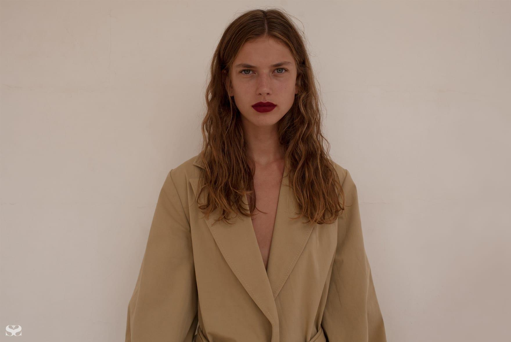KAREN WALKER coat.