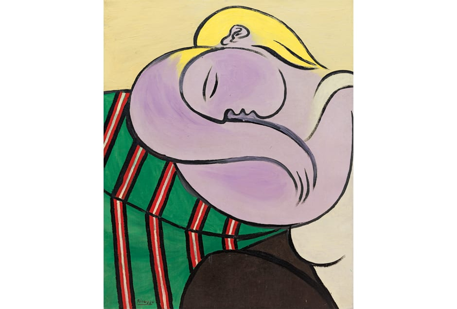 Pablo Picasso, Woman with Yellow Hair (Femme aux cheveux jaunes), Paris, December 1931, Solomon R. Guggenheim Museum, New York, Thannhauser Collection, Gift, Justin K. Thannhauser, 1978 © 2017 Estate of Pablo Picasso/Artists Rights Society (ARS), New York.