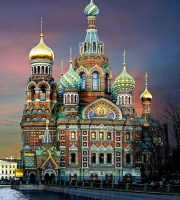 Church of our Savior on Spilled Blood St Petersburg